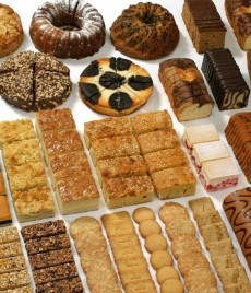 Kuchen-Auswahl
